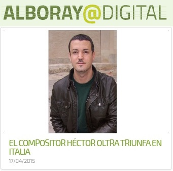 "Alboraya Digital - Premio ""Sons"" (Italia)"